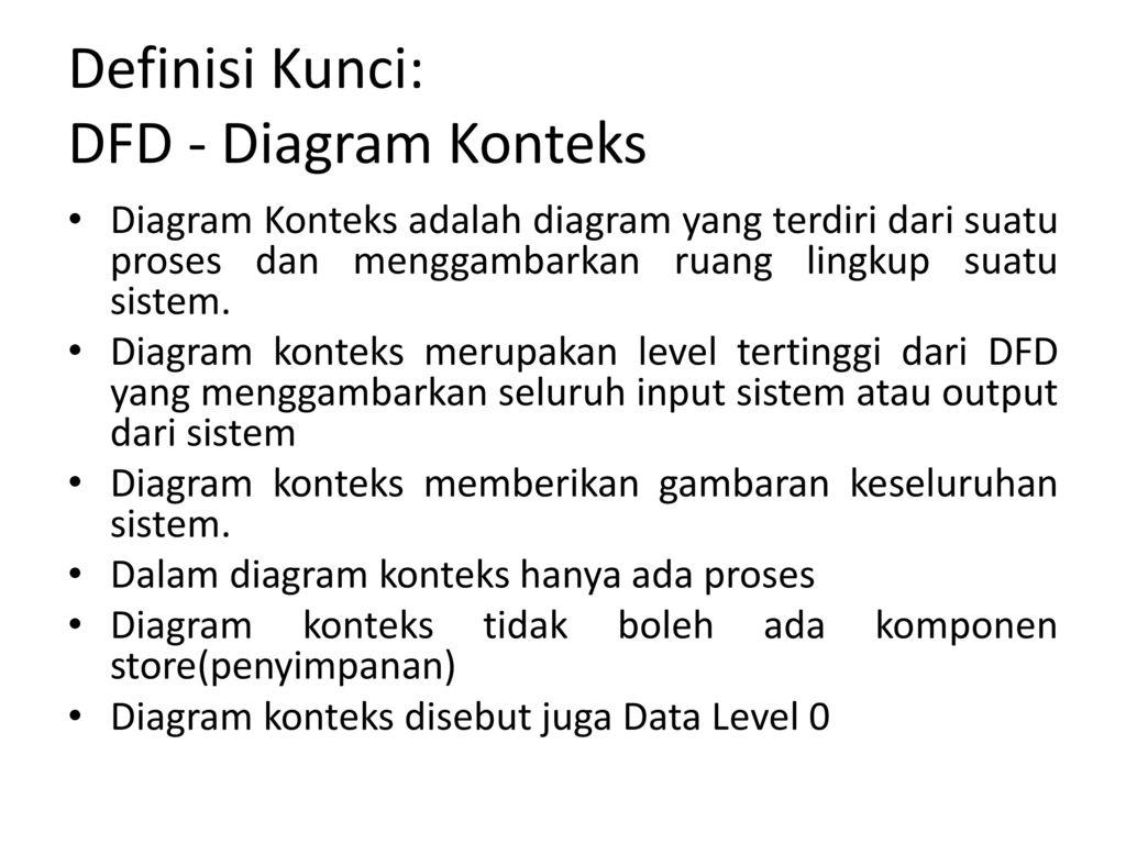 Data flow diagram book ppt download 6 definisi kunci dfd diagram konteks ccuart Image collections