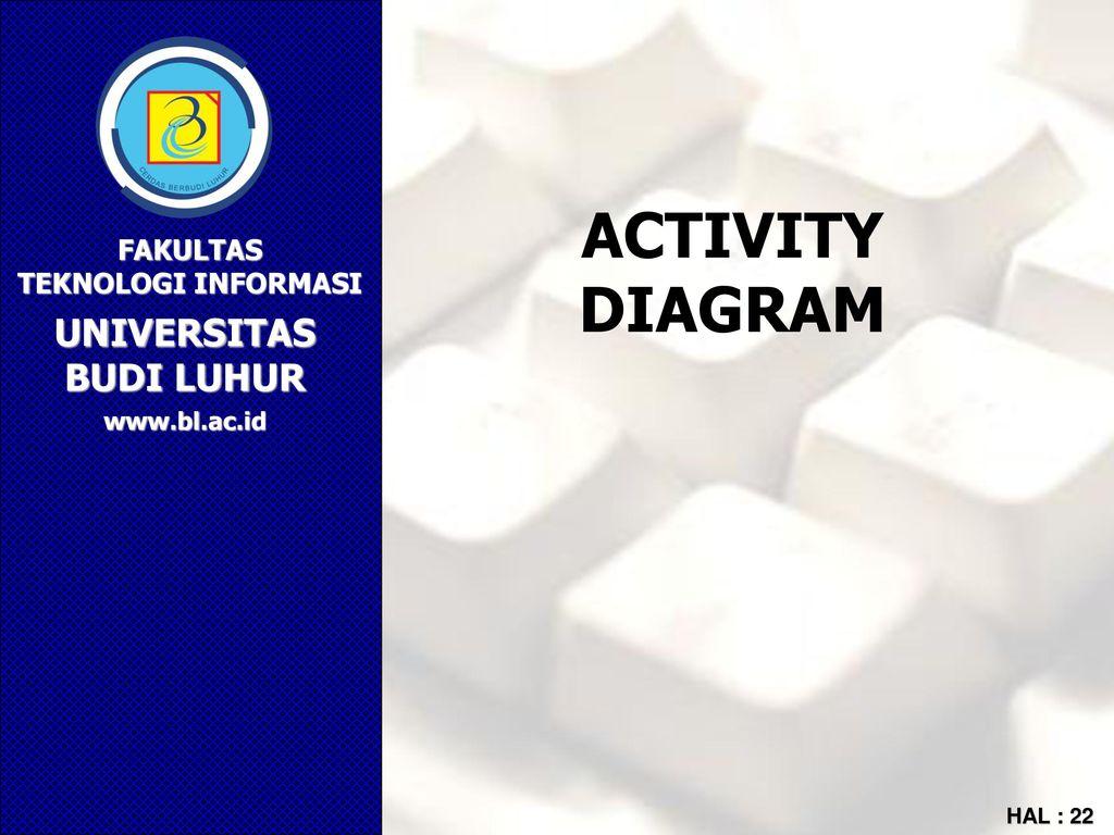 Pemodelan sistem informasi berorientasi obyek ppt download 22 activity diagram ccuart Images