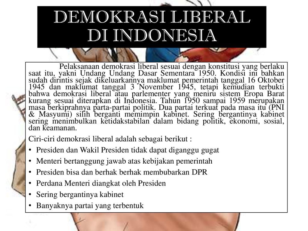 Demokrasi Liberal di indonesia