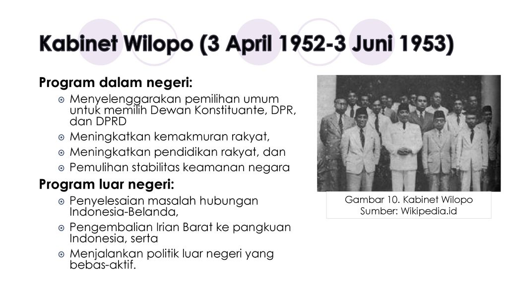 Kabinet Wilopo (3 April Juni 1953)