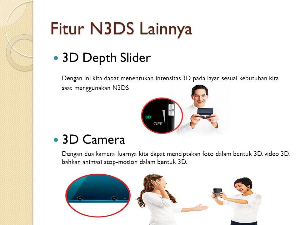 Fitur N3DS Lainnya 3D Depth Slider