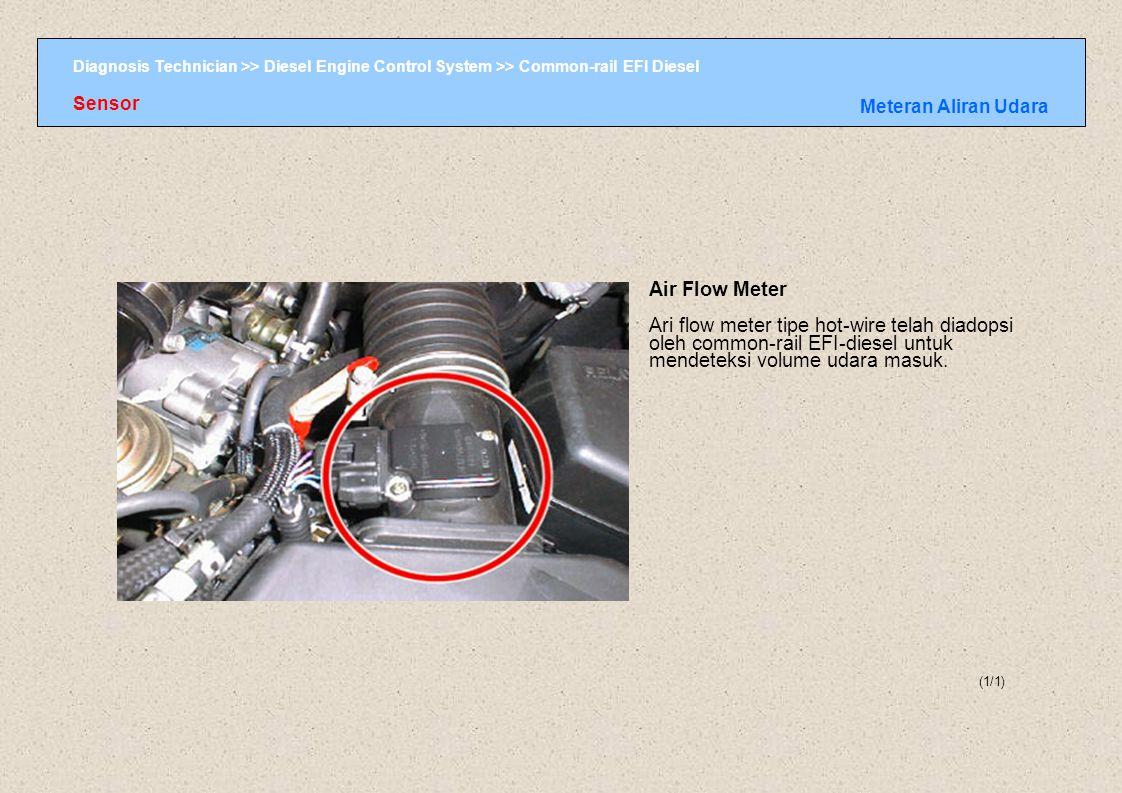Sensor Meteran Aliran Udara. Air Flow Meter.