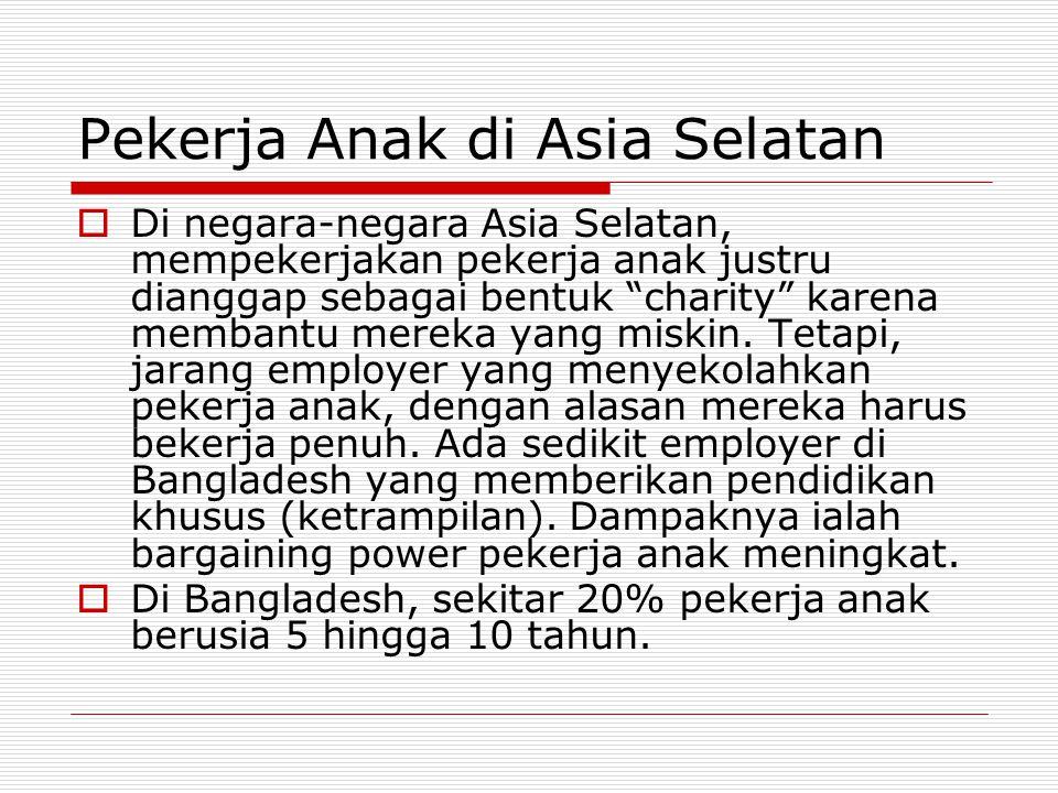Pekerja Anak di Asia Selatan