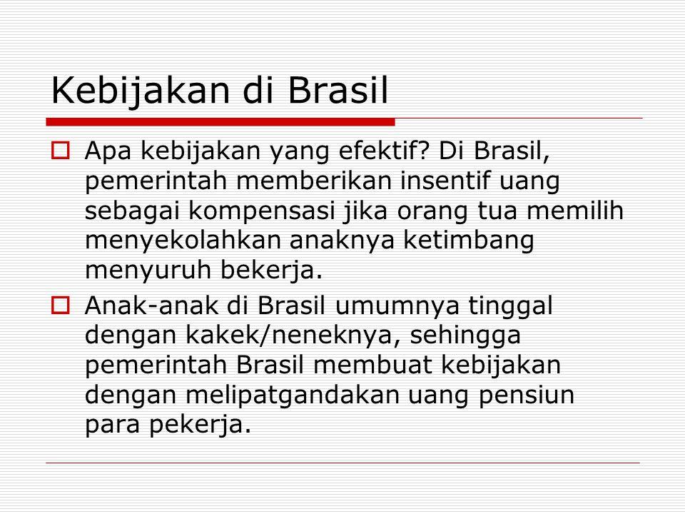 Kebijakan di Brasil