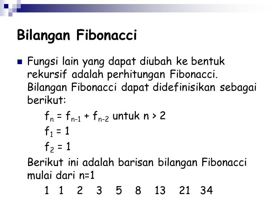 Bilangan Fibonacci