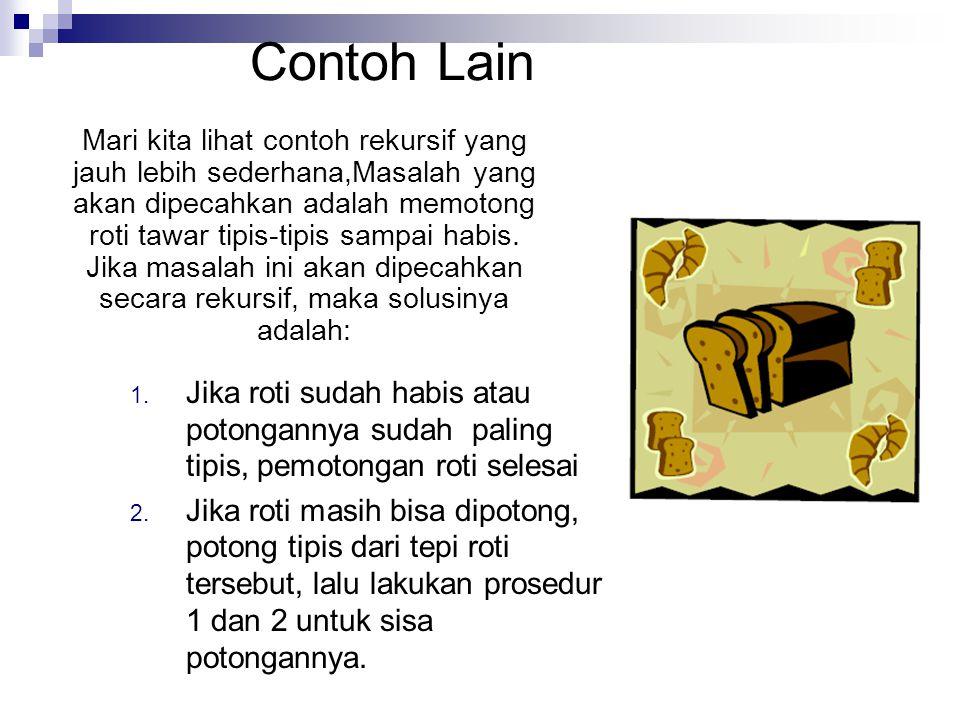 Contoh Lain