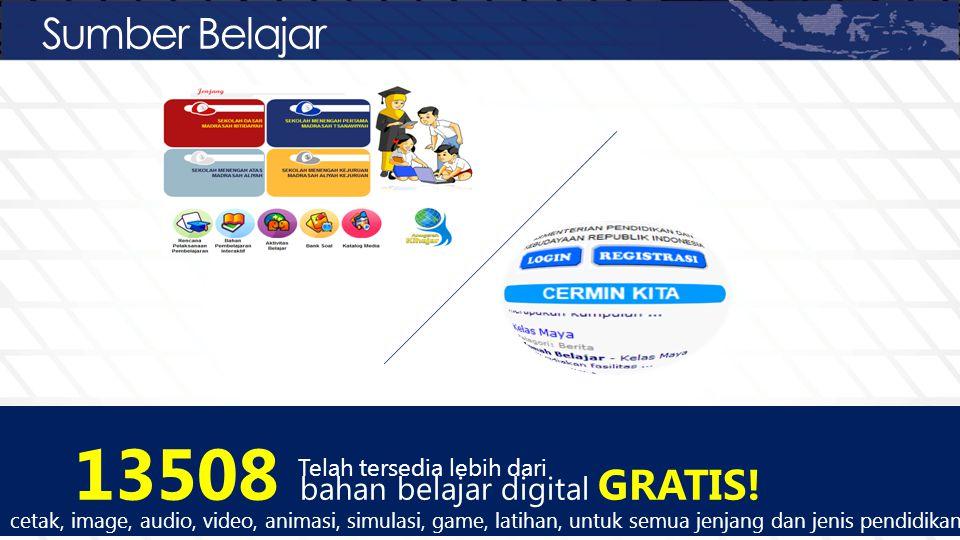 13508 bahan belajar digital GRATIS!