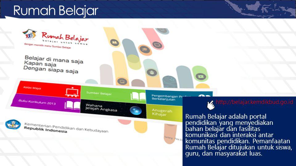 Rumah Belajar http://belajar.kemdikbud.go.id.