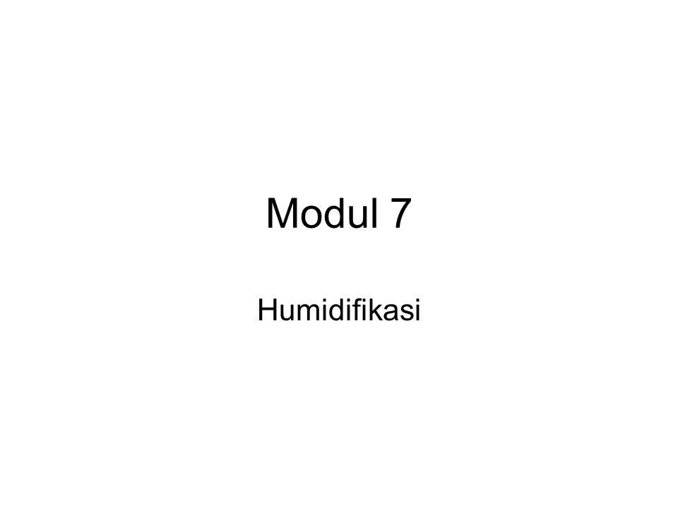 Modul 7 Humidifikasi