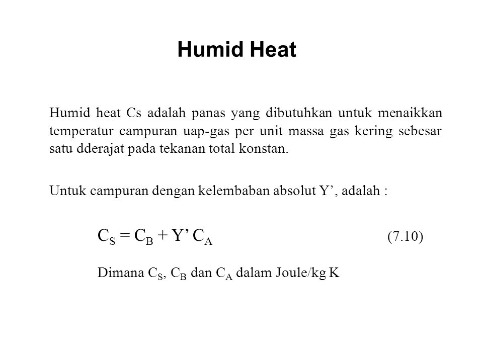 Humid Heat