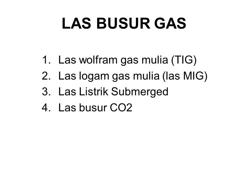 LAS BUSUR GAS Las wolfram gas mulia (TIG)
