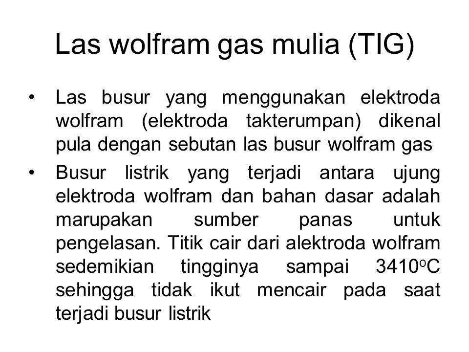 Las wolfram gas mulia (TIG)