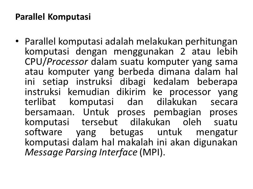 Parallel Komputasi