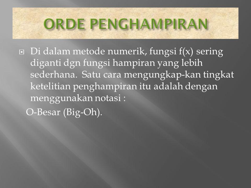 ORDE PENGHAMPIRAN