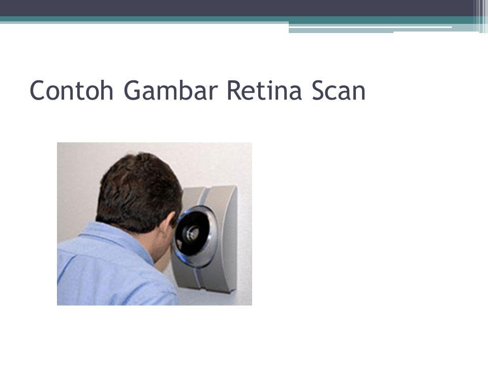 Contoh Gambar Retina Scan