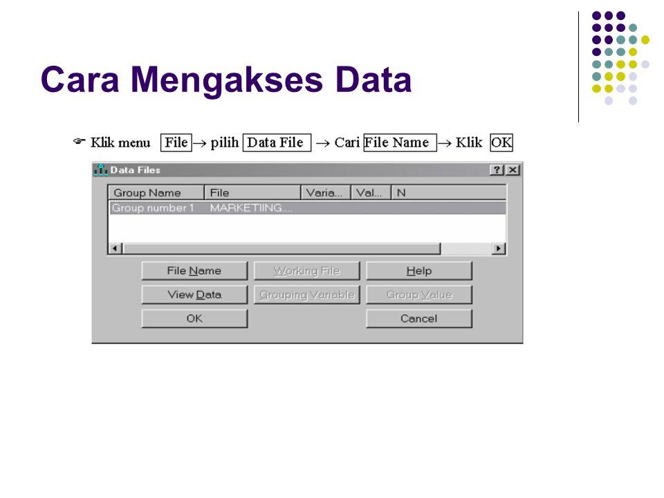 Cara Mengakses Data
