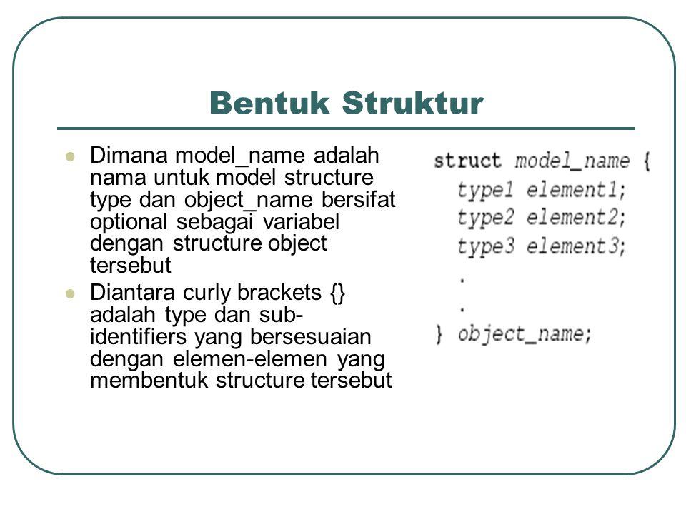 Bentuk Struktur