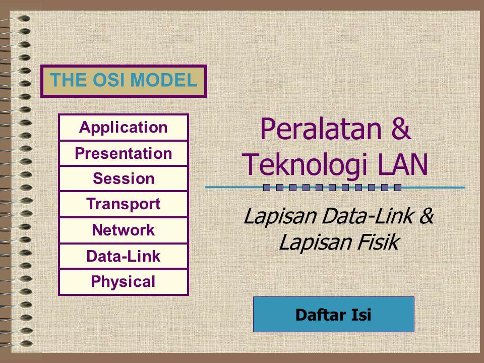 Peralatan & Teknologi LAN