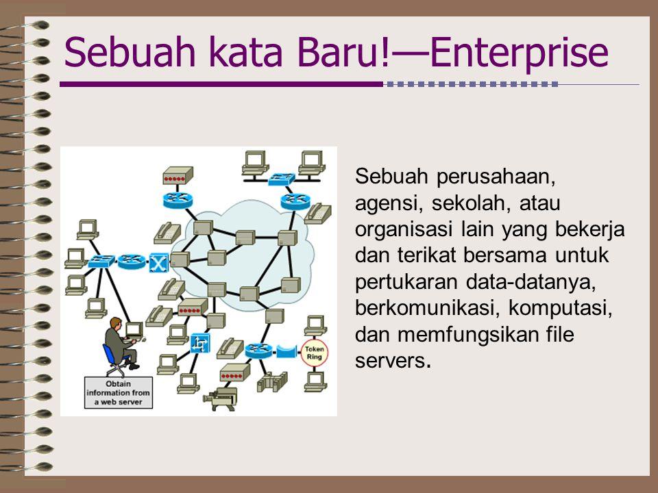 Sebuah kata Baru!—Enterprise