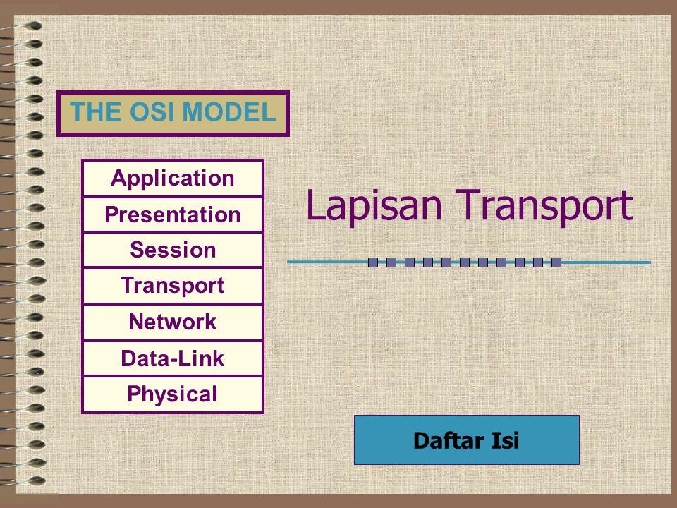 Lapisan Transport Daftar Isi