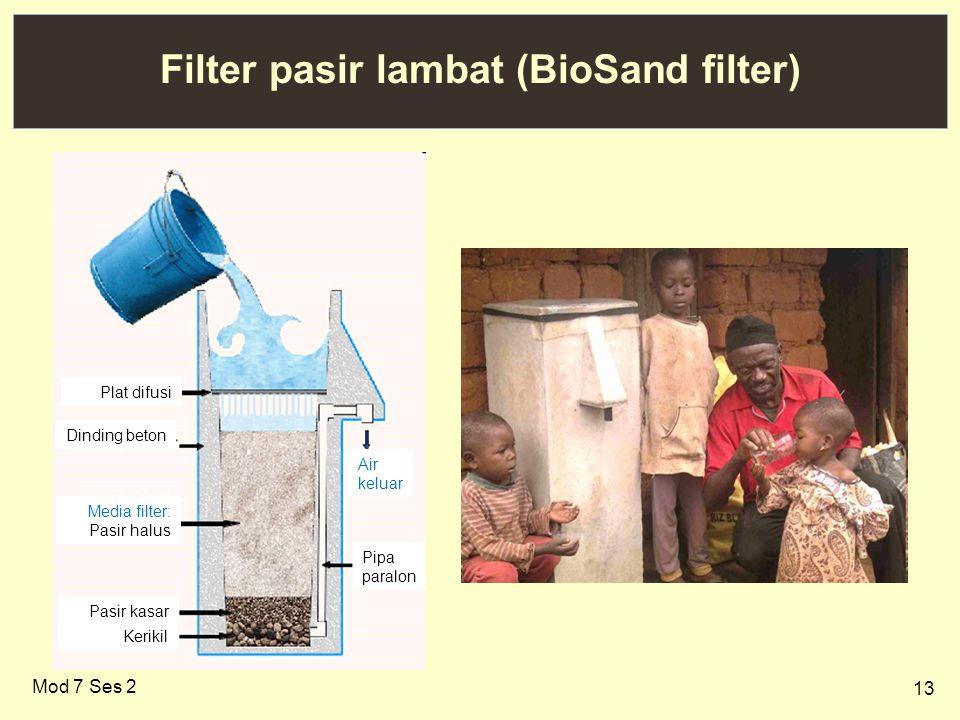 Filter pasir lambat (BioSand filter)