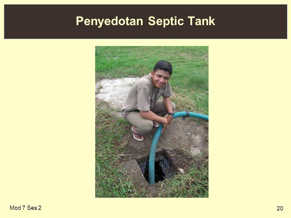 Penyedotan Septic Tank