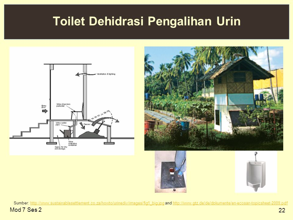 Toilet Dehidrasi Pengalihan Urin