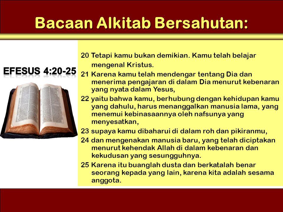Bacaan Alkitab Bersahutan: