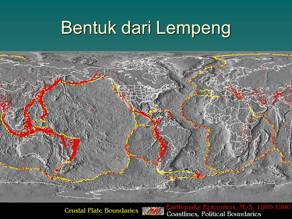 Bentuk dari Lempeng To view this animation, click View and then Slide Show on the top navigation bar.