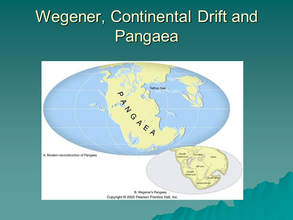 Wegener, Continental Drift and Pangaea