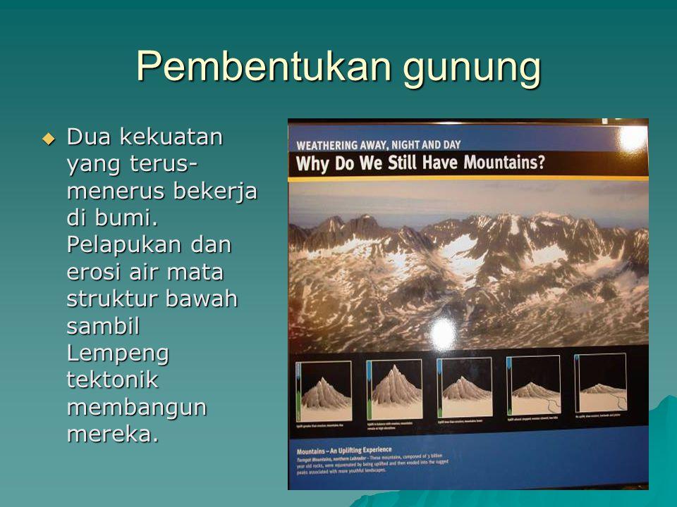 Pembentukan gunung