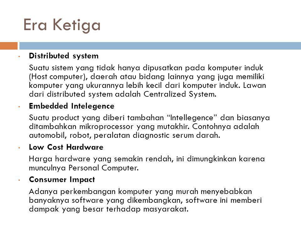 Era Ketiga Distributed system