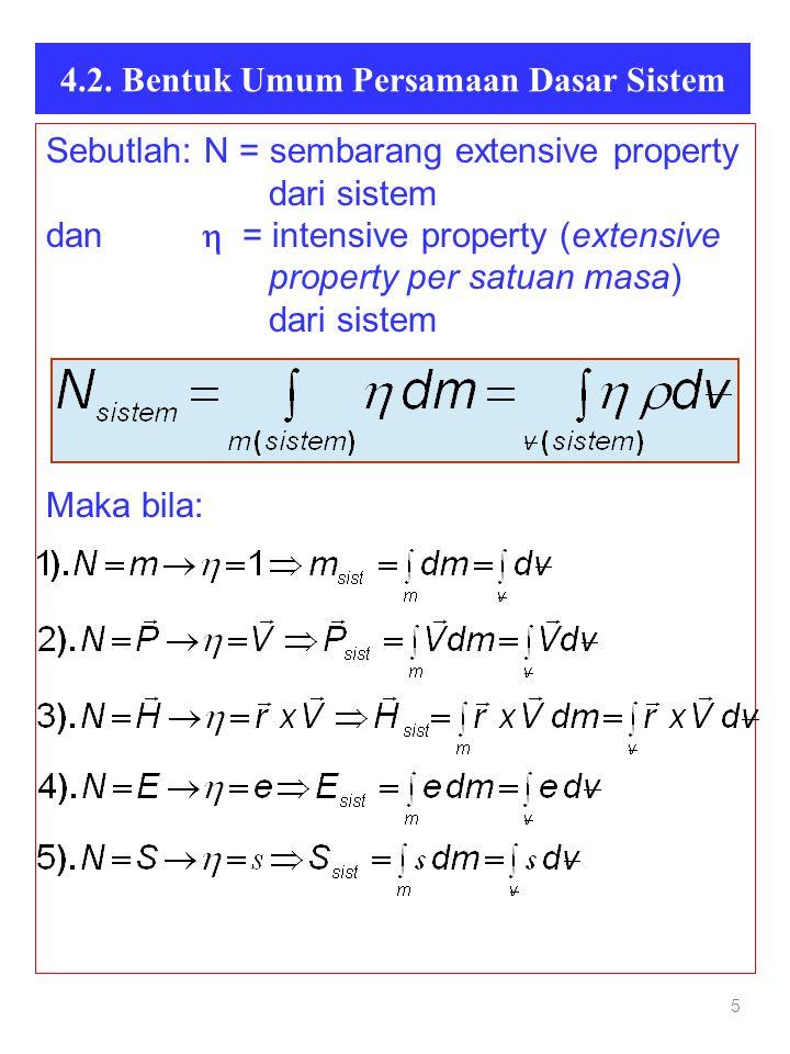 4.2. Bentuk Umum Persamaan Dasar Sistem