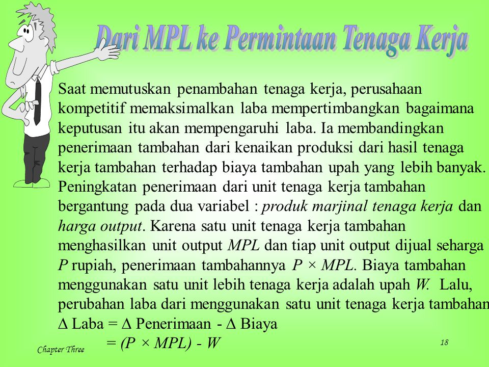 Dari MPL ke Permintaan Tenaga Kerja