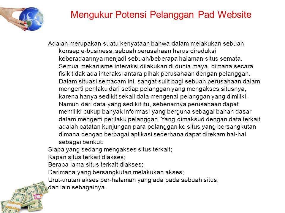 Mengukur Potensi Pelanggan Pad Website