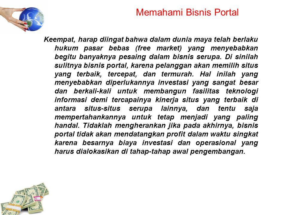 Memahami Bisnis Portal