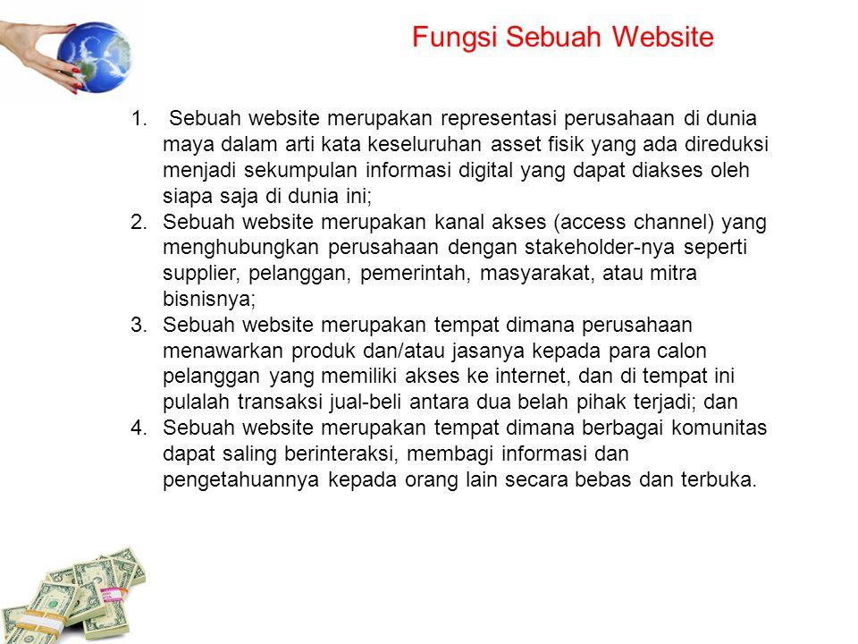 Fungsi Sebuah Website