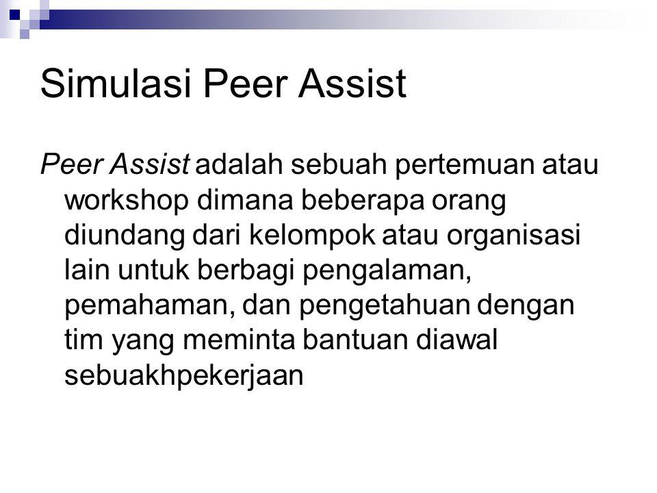 Simulasi Peer Assist