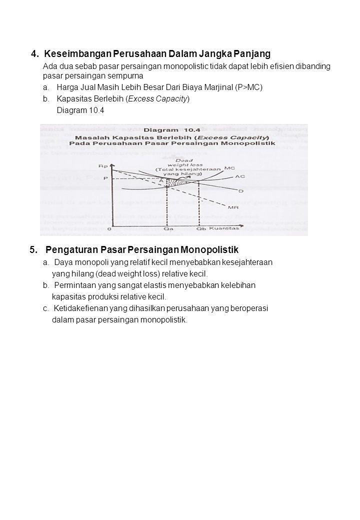 4. Keseimbangan Perusahaan Dalam Jangka Panjang