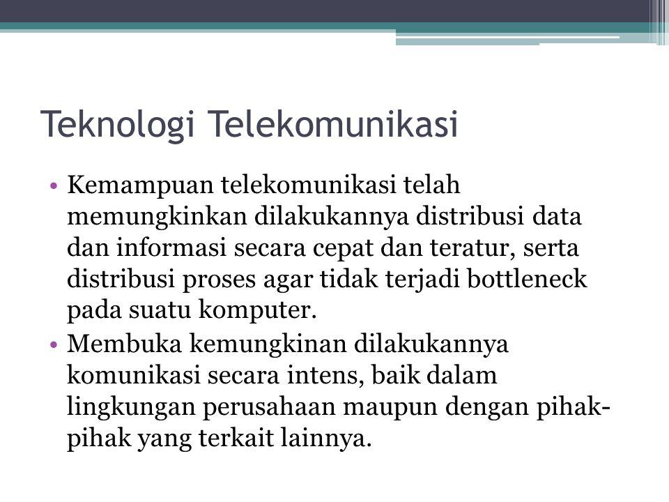 Teknologi Telekomunikasi