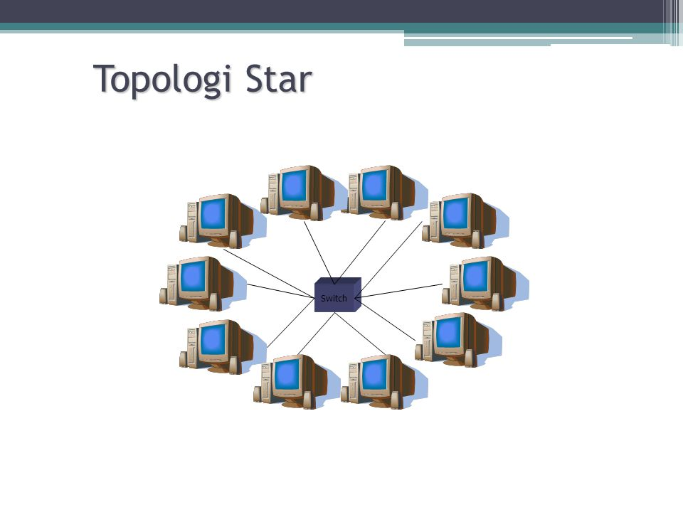 Topologi Star Switch