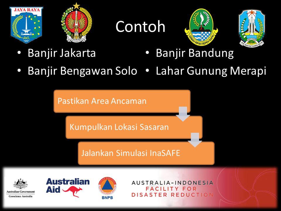Contoh Banjir Jakarta Banjir Bandung Banjir Bengawan Solo