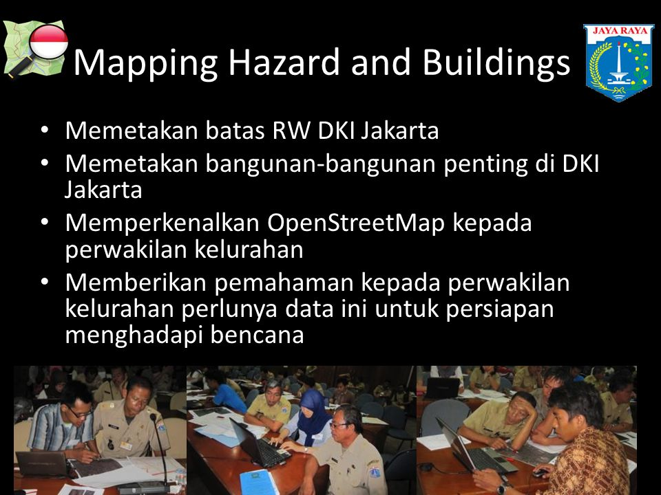 Mapping Hazard and Buildings