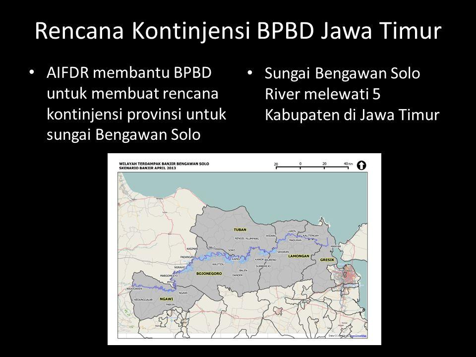 Rencana Kontinjensi BPBD Jawa Timur
