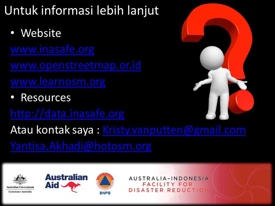Untuk informasi lebih lanjut