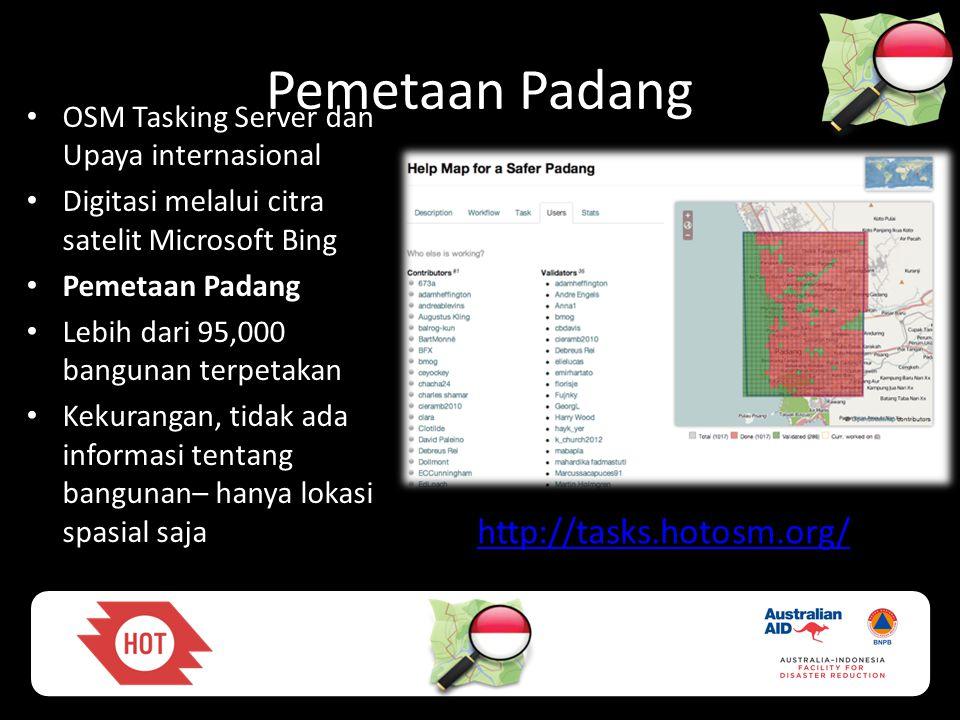 Pemetaan Padang http://tasks.hotosm.org/