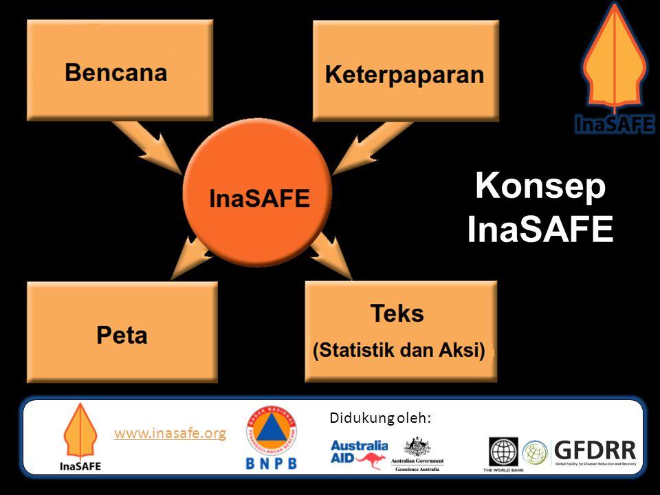 Konsep InaSAFE Didukung oleh: www.inasafe.org