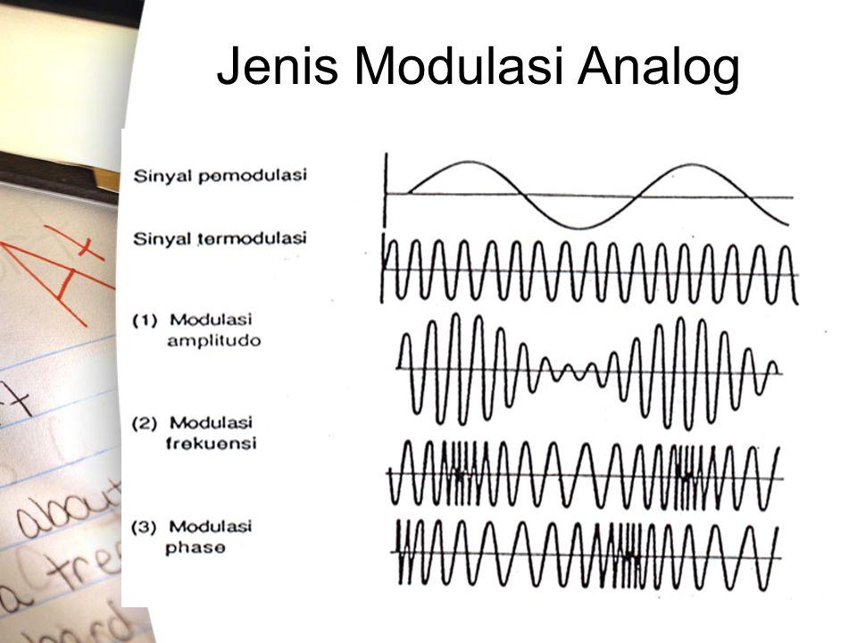 Jenis Modulasi Analog