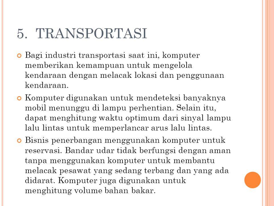 5. TRANSPORTASI