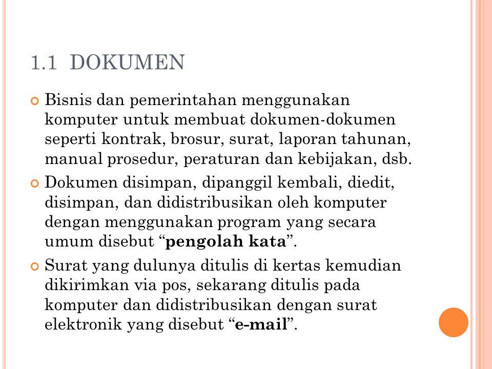 1.1 DOKUMEN